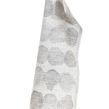 Ścierka lniana SADE 46x70 Biało-Beżowa
