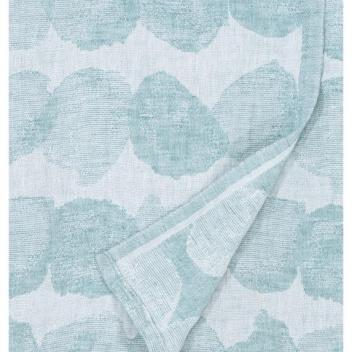 Ręcznik lniany SADE 95x180 Biało-Różowy