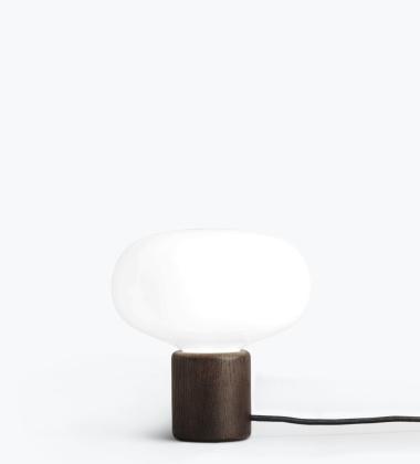 Lampa stołowa Karl-Johan Smoked Oak