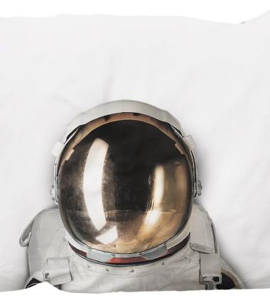 Poszewka na poduszkę z astronautą 50x75 ASTRONAUT