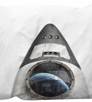 Poszewka na poduszkę z rakietą 50x75 ROCKET