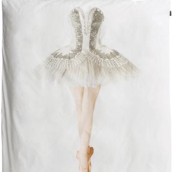 Pościel bawełniana z baletnicą 140x200 BALLERINA