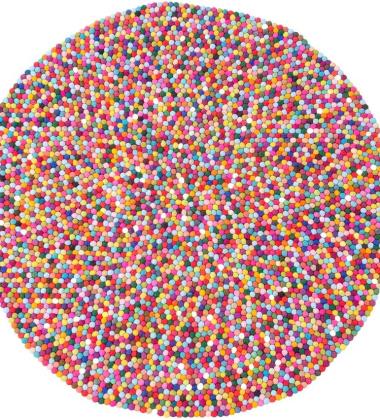 Dywan Confetti Wool 90 cm Multicolor