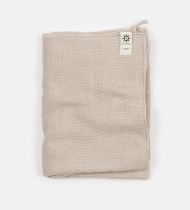 Ręcznik kąpielowy z dzianiny 100x150 NATURAL