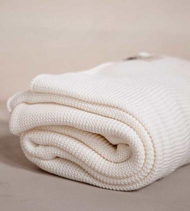 Ręcznik kąpielowy z dzianiny 100x150 WHITE