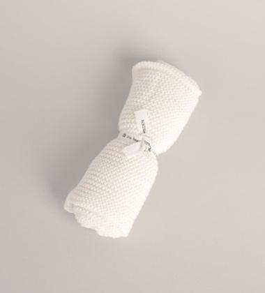 Ręcznik z bawełnianej dzianiny 45x50 WHITE