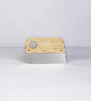 Drewniany nożyk i skrobaczka do ciasta DOUGH SCRAPER