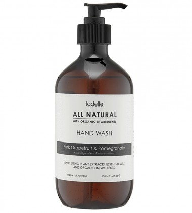 Mydło do rąk GREJPFRUT - GRANAT 500 ml All Natural Hand Wash
