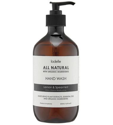 Mydło do rąk CYTRYNA - MIĘTA 500 ml All Natural Hand Wash