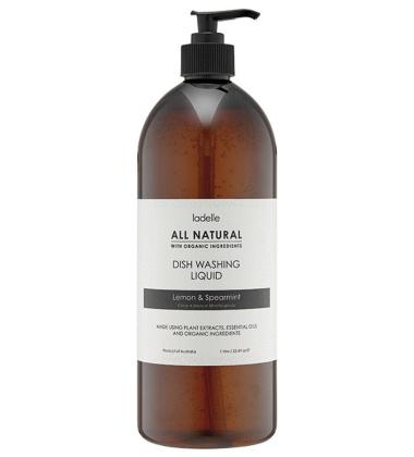 Płyn do naczyń CYTRYNA - MIĘTA 1L All Natural Dish Washing Liquid