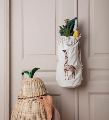 Worek na zabawki SAFARI Storage Bag Giraffe ŻYRAFA