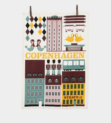 Ścierka kuchenna COPENHAGEN 50x70 Multi