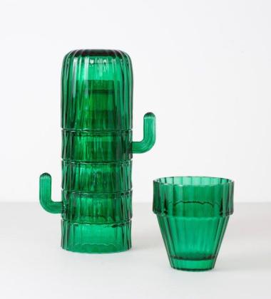 Komplet szklanek SAGUARO Coffee Cups Set 6 Kaktus