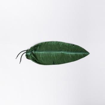 Turystyczny worek na brudy liść TROPICAL LEAF Zielony