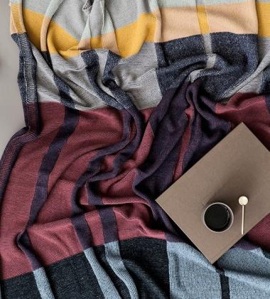 Koc z dzianiny Medley Knit Blanket 120x160 Multi 1