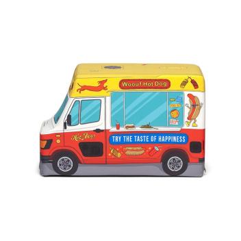 Puf Hot Dog Truck 45x30x70 Czerwony