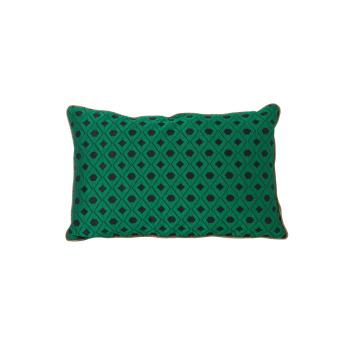 Poduszka dwustronna Salon Cushion MOSAIC 40x25 Zielona