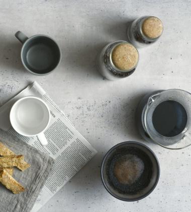 Ceramiczny kubek do kawy SLOW COFFEE STYLE 250 ml Szary