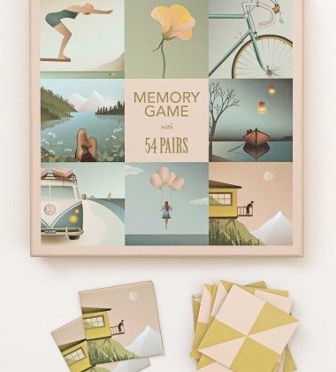 Gra Memory Game 54 pcs 19x19 by ViSSEVASSE