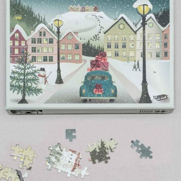 Puzzle 1000 LET IT SNOW Jigsaw by ViSSEVASSE