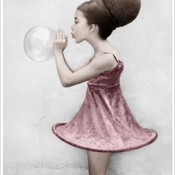 Poster 50x70 BIRTHDAY PARTY 16 Bubble By Vee Speers