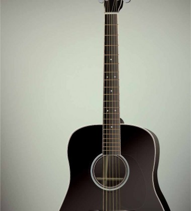 Poster 50x70 THE GUITAR By ViSSEVASSE