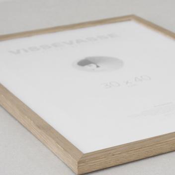 Ramka drewniana z plexiglas Vissevasse 50x70 Dąb