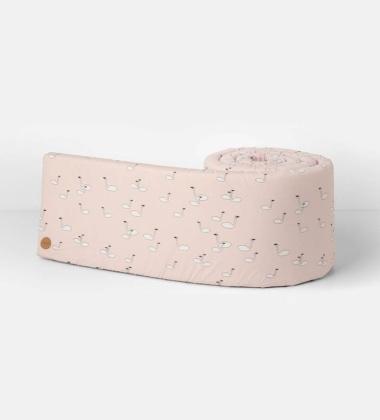 Osłona łóżeczka SWAN Bumper 30x340 Różowa