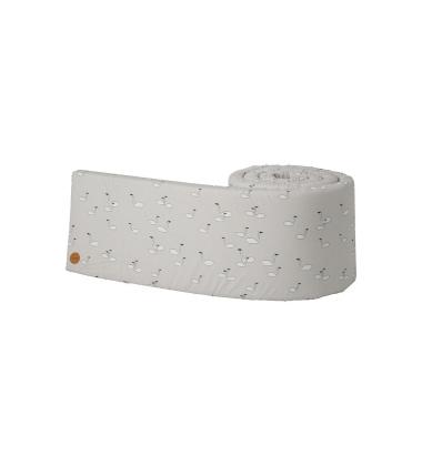 Osłona łóżeczka SWAN Bumper 30x340 Szara
