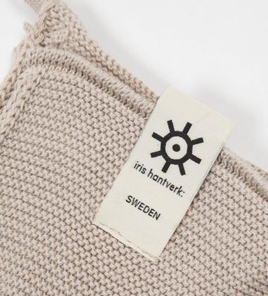 Ręcznik z bawełnianej dzianiny 30x30 NATURAL