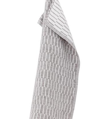Ścierka kuchenna Siru 48x70 Biało-Brązowa