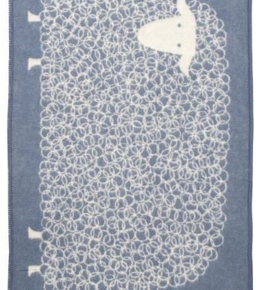 Kocyk dziecięcy KILI Wool 90x130 Beżowy