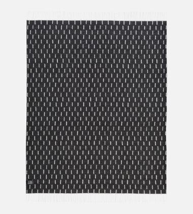Koc Rain 130x180 Czarno-Biały