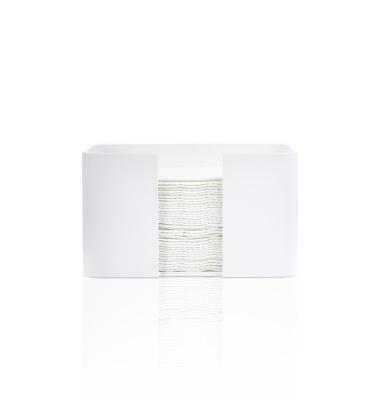 Pojemnik nablatowy na ręczniki DW STONE SPTB Biały Mat