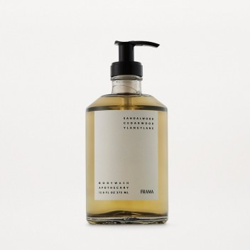 Body Wash 375ml Sandalwood Cedar Wood Ylang Ylang