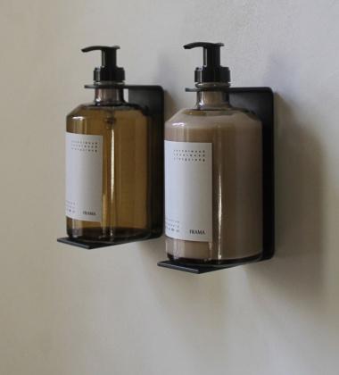 Wieszak ścienny na dozownik 375 ml Wall Display Czarny