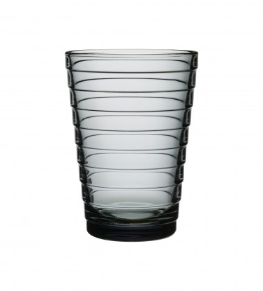 Szklanki Aino Aalto 330 ml Set of 2 Szary