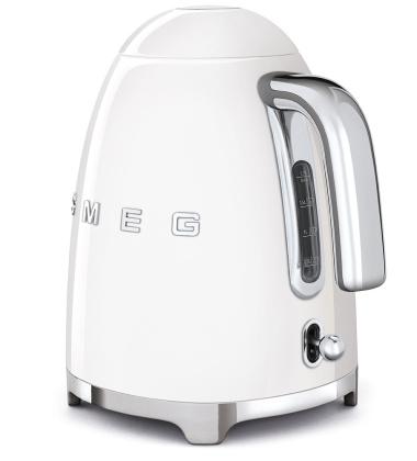 Czajnik elektryczny retro SMEG 50's Style 1,7L Biały