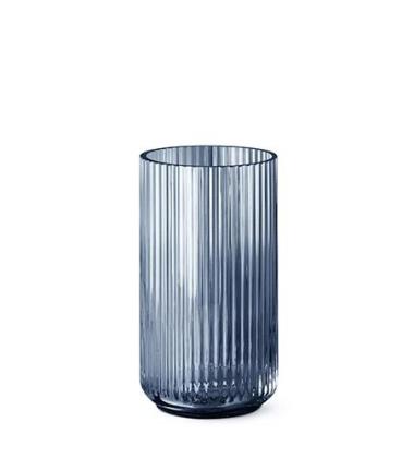 Wazon szklany Lyngby 15 cm Niebieski