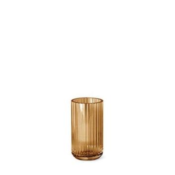 Wazon szklany Lyngby 15 cm Bursztynowy