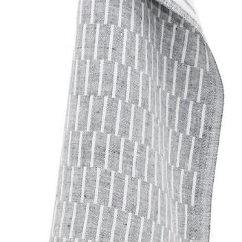 Ścierka kuchenna Siru 48x70 Biało-Szara