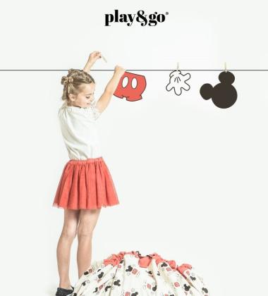 Worek-Mata Disney Mickey Cool Czerwony