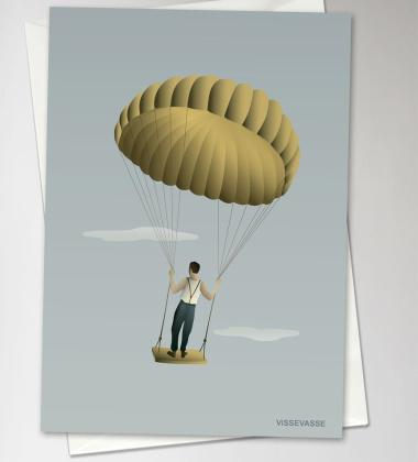 Kartka okolicznościowa MEN IN THE SKY 10,5x15