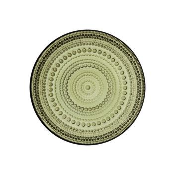 Talerz szklany Kastehelmi 17 cm Moss Green Zielony