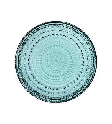 Talerz szklany Kastehelmi 17 cm Sea Blue Morski