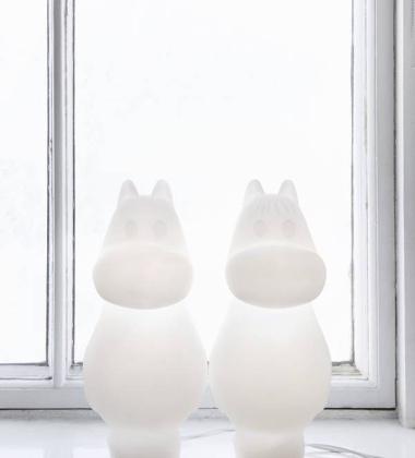 Lampa stołowa Snorkmaiden 50 cm Migotka