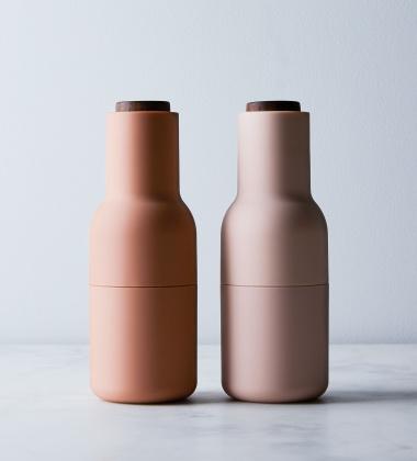 Komplet młynków Bottle Grinder Set Różowy Orzech
