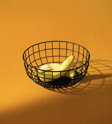 Kosz Norm Wire Bowl 25 cm Czarny