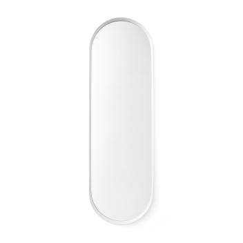 Lustro ścienne NORM WALL MIRROR OVAL 130x40 White