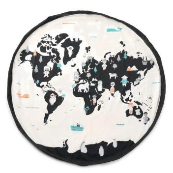 Worek-Mata dwustronna WORLD MAP 140 cm NEW!!